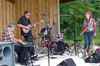 Plaid Jazz is Brian Douglas, Signe Crawford, Jim Rosand, Tom Svornich