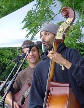 Franco Bertucci and John Sanders of The Village Idiots