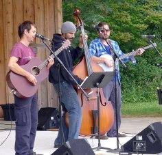 Franco Bertucci and John Sanders and Greg Brotherton of The Village Idiots